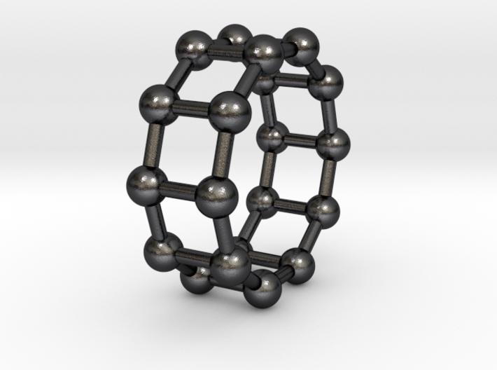 0345 Decagonal Prism V&E (a=1cm) #003 3d printed