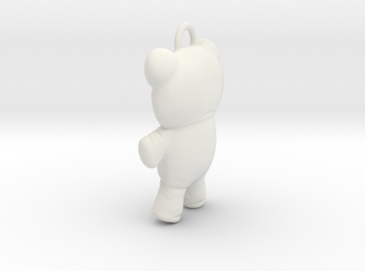 Sucker Punch Babydoll Gun Charms: Voodoo Bear 3d printed