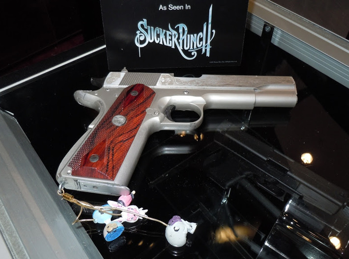 Sucker Punch Babydoll Gun Charms: Father Time's Ho 3d printed