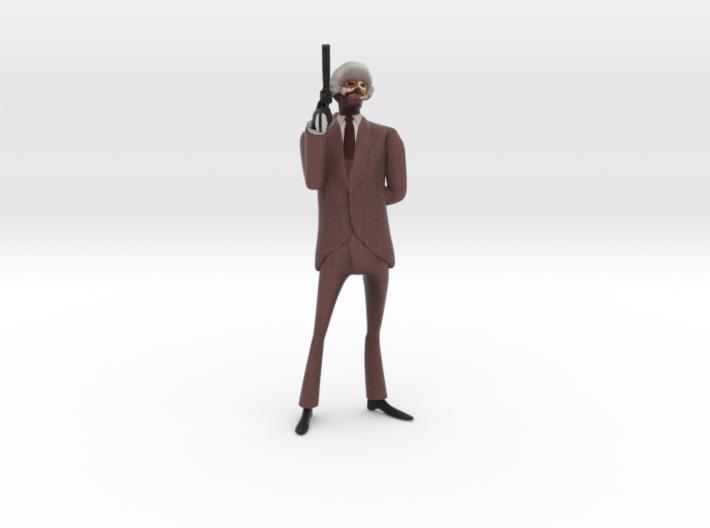 Meet the pompous spy 3d printed