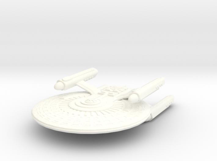 USS Harlan 3d printed