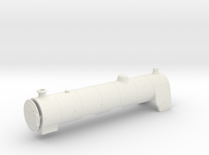 A0 1915 Parallel Boiler & Firebox 3d printed