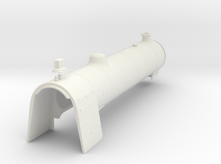 A0 - H1 - Parallel Boiler & Firebox B 3d printed