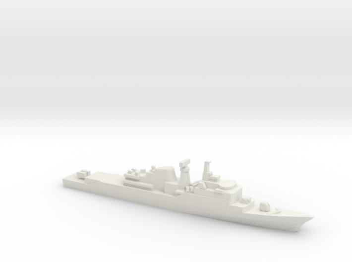 Niteroi-class frigate, 1/1800 3d printed