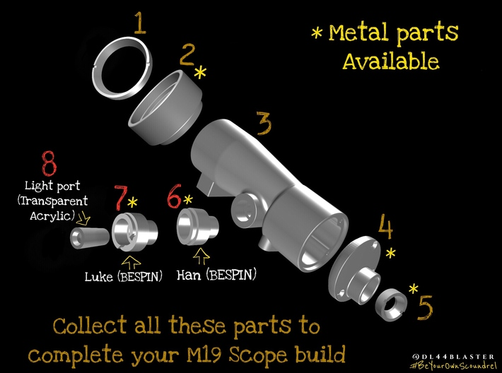 m19 scope back (2) metal 3d printed