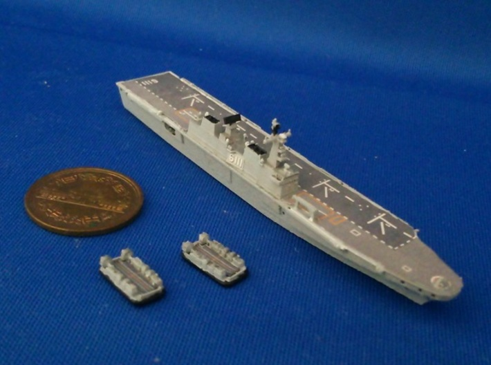 1/2000 ROKS Dokdo 3d printed painted and decal.