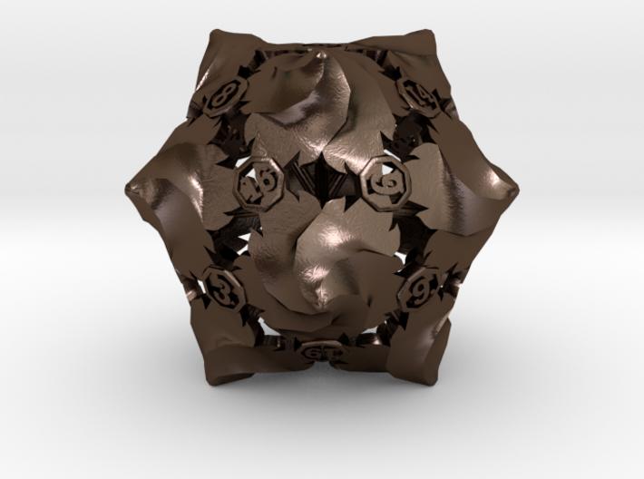 D20 Balanced - Fire 3d printed