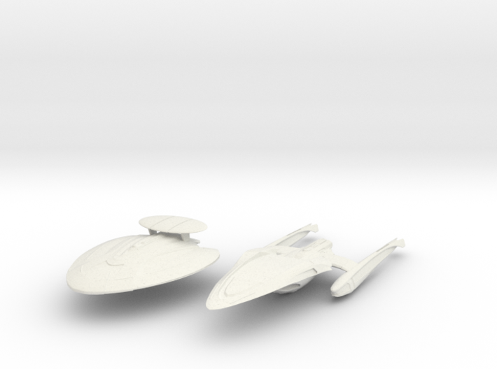 New York Class C ScoutCruiser Separated 3d printed
