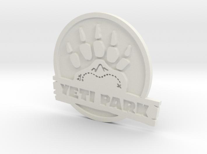 Team Fortress 2 Yeti Park Logo 3d printed