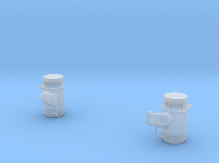 1/64 C500 Air filters 3d printed