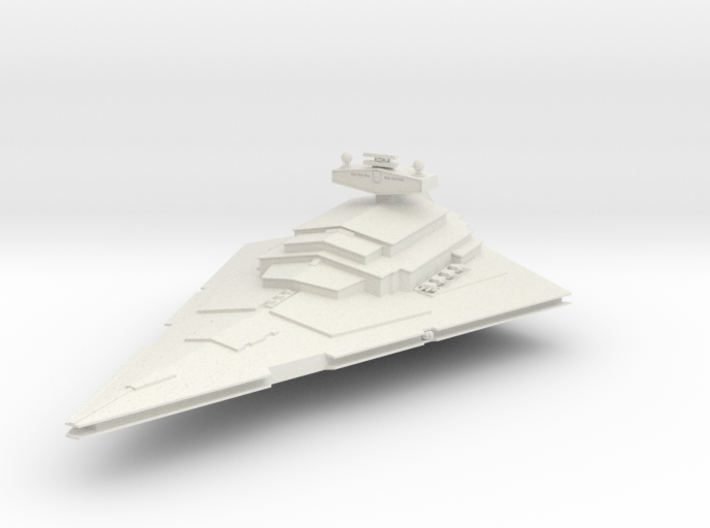 "Star Destroyer 2.7"" 3d printed"