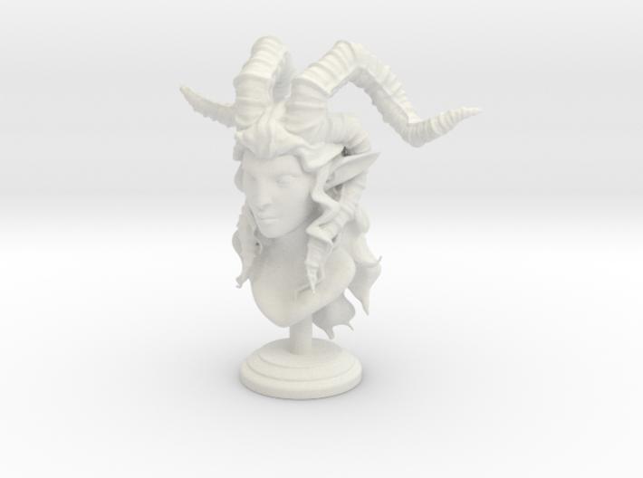 Female Satyr 3d printed