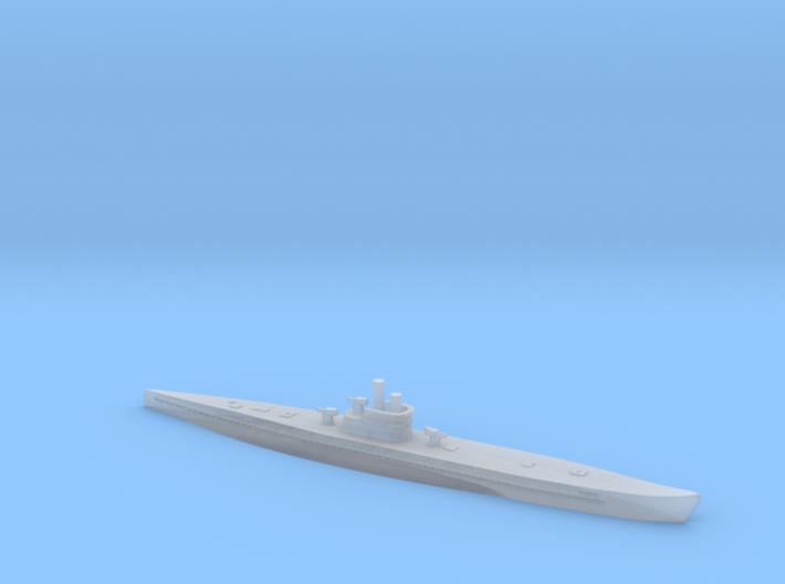 1/1200 Uboat XIV 3d printed