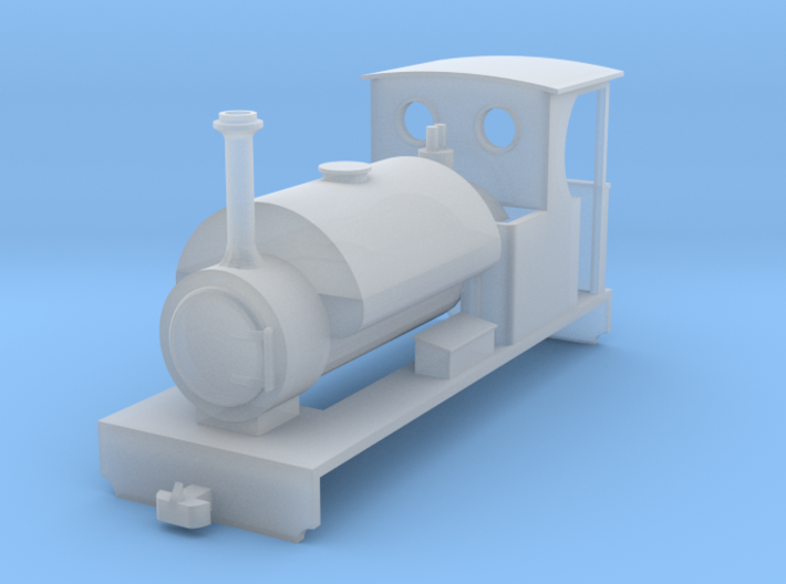"SK03 - ""Mongrel"" OO9 Steam Locomotive 3d printed"