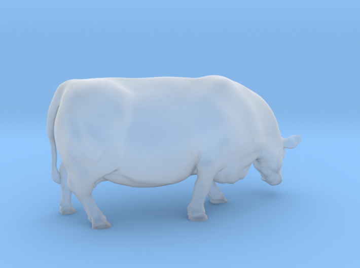 1/64 Polled Grazing Cow Left Turn 3d printed