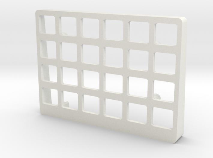 Let's Split Keyboard Case - Right Top 3d printed