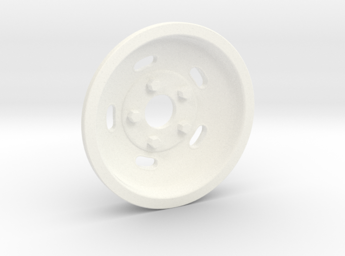 1:8 Front Indy Style Kidney Bean Wheel 3d printed