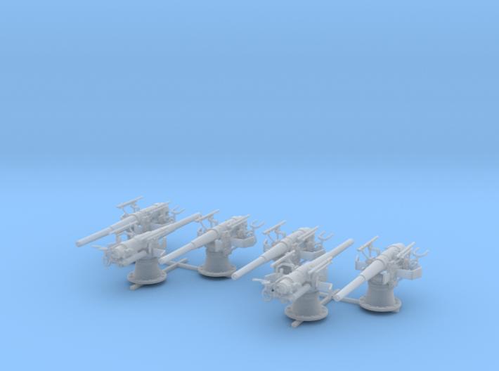 1/100 SMS Emden 10.5cm/40 SK L/40 Guns x6 3d printed 1/100 SMS Emden 10.5cm/40 SK L/40 Guns x6