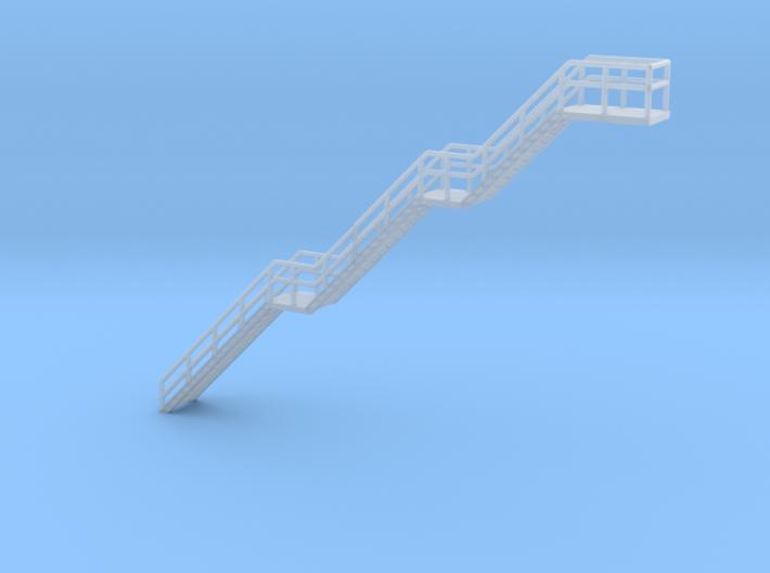 N Scale Stairs H56.2mm 3d printed