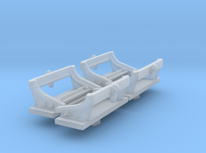1-72 Deep Charge Empty Rack Type C Set001 3d printed