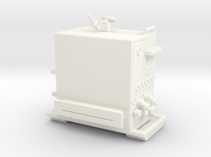 1/87-scale Pumper Pump Module 3d printed