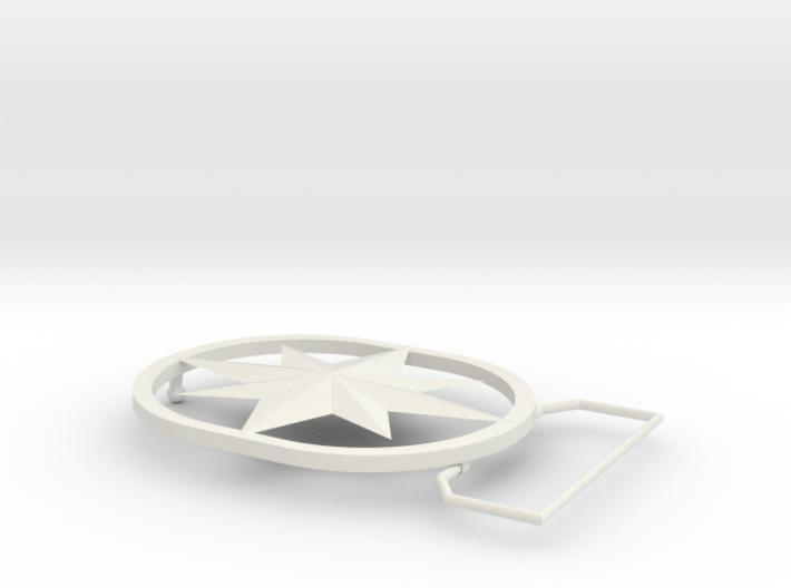 Captain Marvel (Carol Danvers) Belt Buckle 3d printed