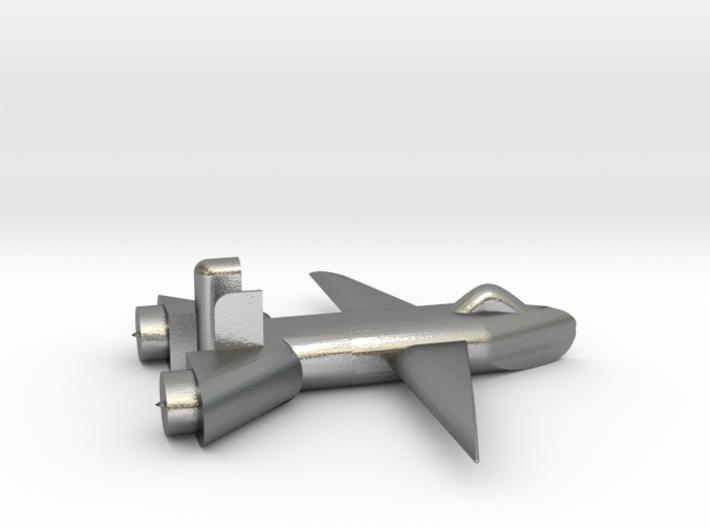 Jet no landing gear 3d printed