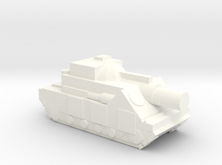 (Free DWNLD) Slugger Siege Tank  3d printed