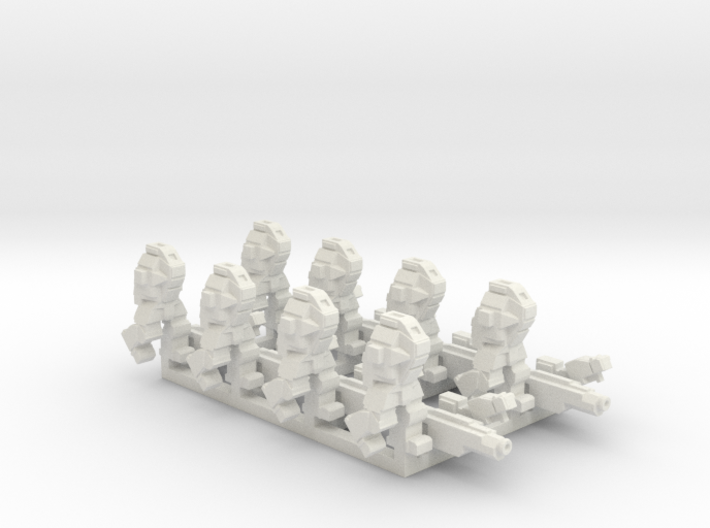 Ares MkIII 2 Squads 3d printed