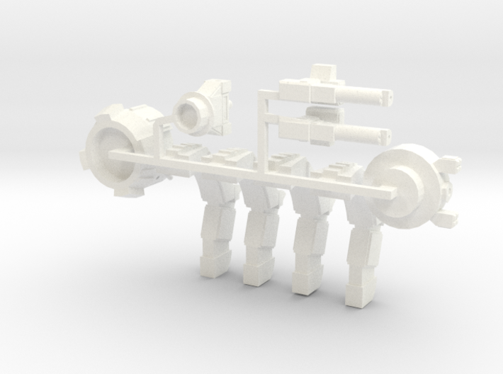 Warbot Command Walker 3d printed