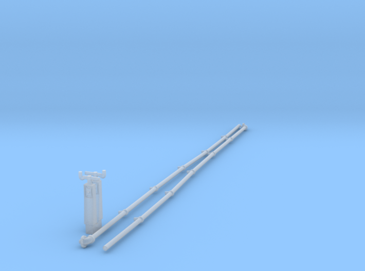 A0 - A1 Reverser Columns and Pipes 3d printed