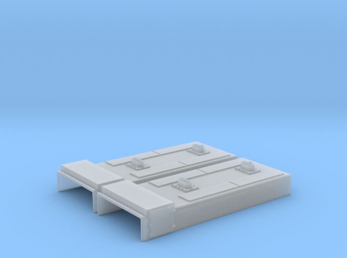 SD38-2 Non Dynamic Section (N - 1:160) 2X 3d printed