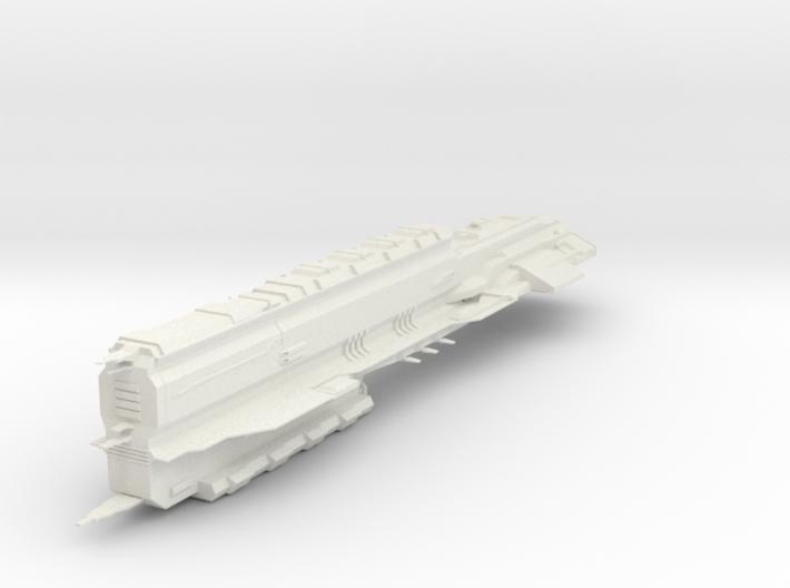 Battleship Rokh 3d printed