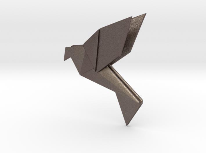 Origami Bird 3d printed small origami bird