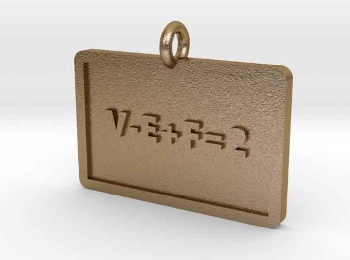 Euler's Characteristic Pendant 3d printed
