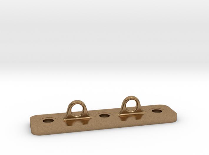 Double Loop Plate 3d printed