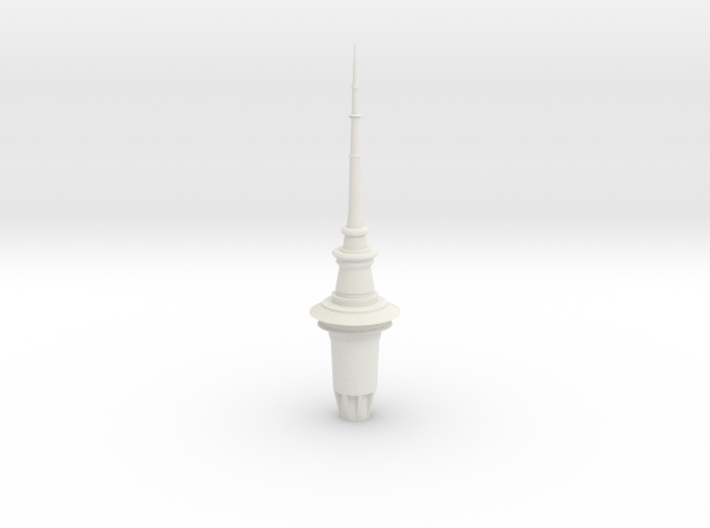 ASTT - Auckland SkyTower 1:500 Top Section 3d printed