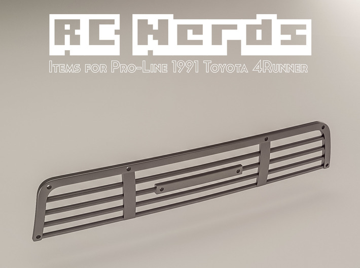 RCN053 Grill part for Toyota 4Runner from PL 3d printed