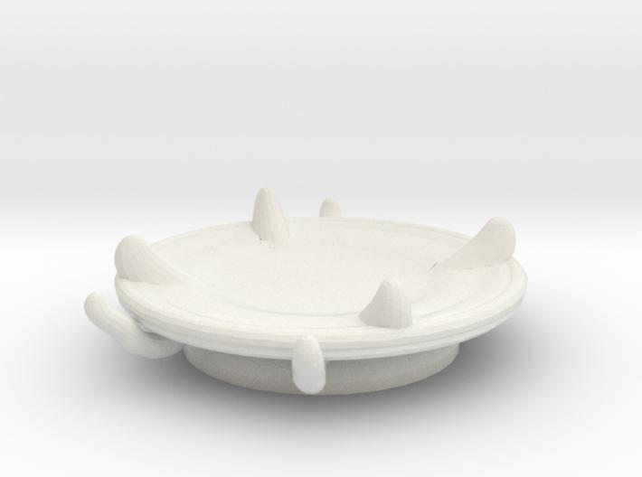 Imp's saucer (set 2 of 2) 3d printed