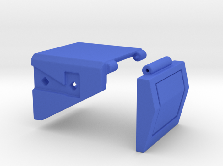 CW to G1 Magnus Crotch Assembly Part 1 of 2, Left 3d printed