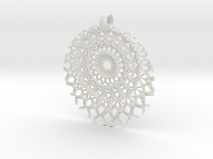 SpFr Medallion 3d printed