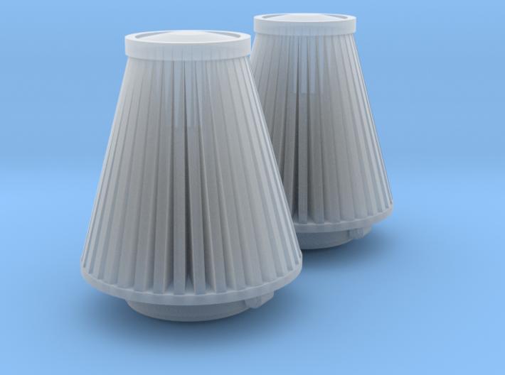 cone 1/24 air filter pr 3d printed