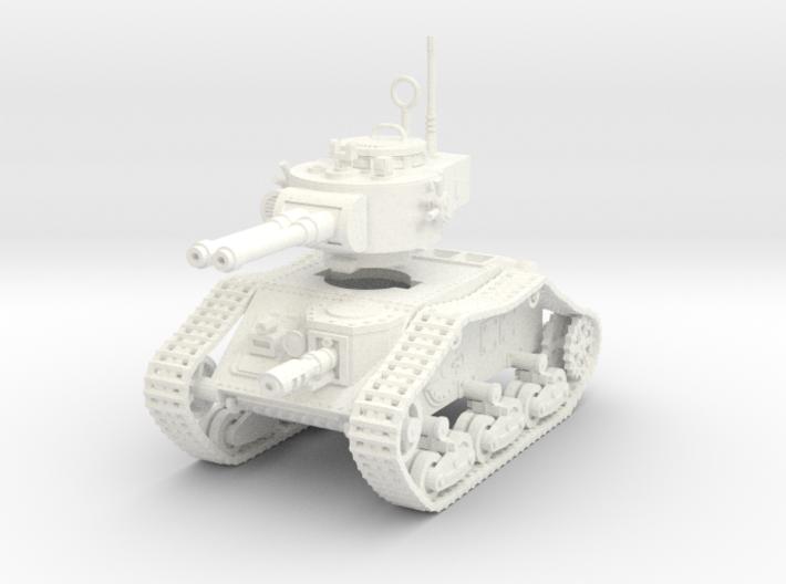 15mm Autocannon Empire Tank 3d printed