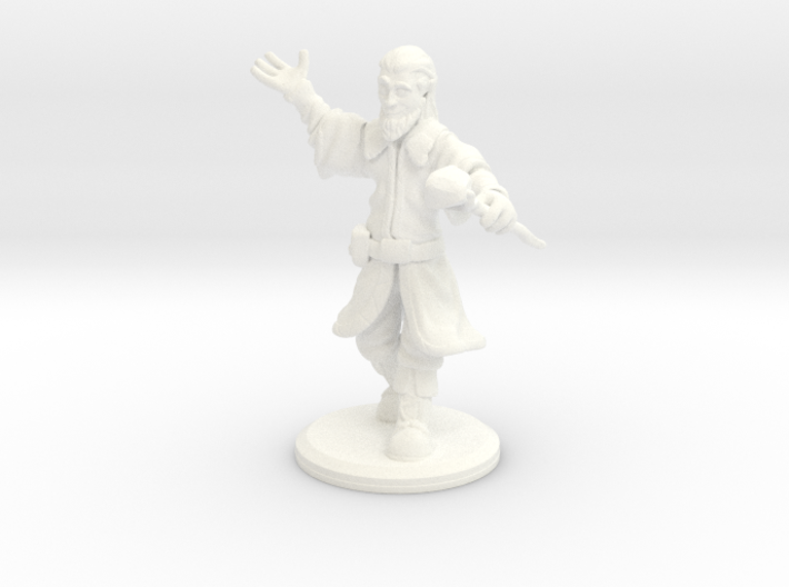 D&D Mini - Zendrin The Sorcerer/Wizard 3d printed