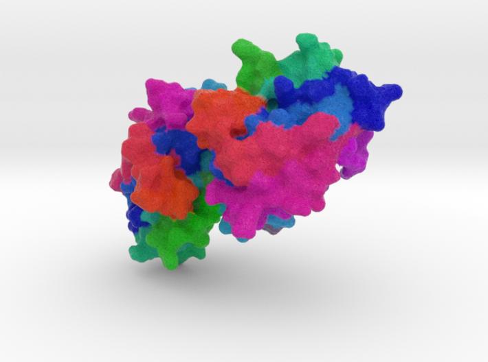 Myxoma Virus M64 3d printed