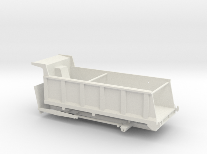 1/50th Large 20' Dump Truck Body, 25/27 yard 3d printed
