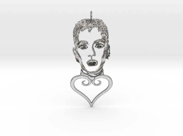 Katy Perry Pendant 3d printed