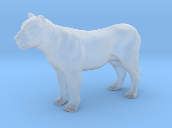 Printle Thing Lioness - 1/64 3d printed