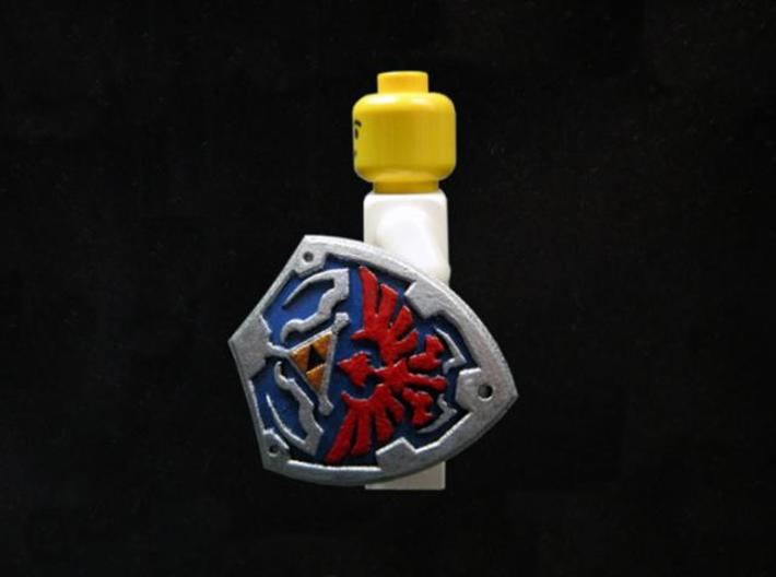 Royal Shield II 3d printed Painted Frosted Ultra Detail