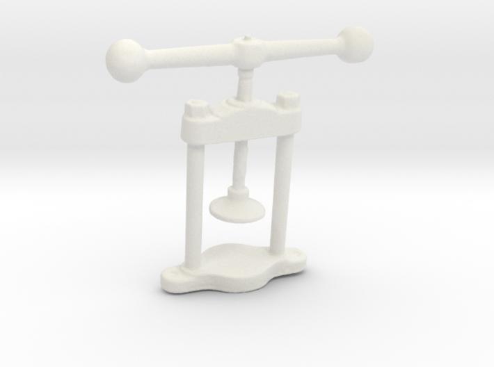 Manual press 3d printed